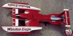 8910 Winston Eagle (Lobster) 1/8th scale  hydro